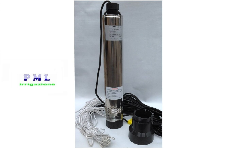 Elettropompa pompa sommersa 4  Q SUB 100 7 HP1 autoraffreddata a 7giranti