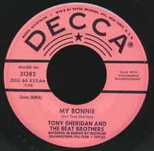 Beatles ULTRA RARE 1962 U.S. ' MY BONNIE ' DECCA PROMOTIONAL ISSUE 45!