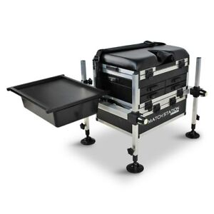 Match-Station-AS5-Drawer-BLACK-EDITION-Alloy-Pro-Sport-Seat-Box-amp-Sliding-Tray