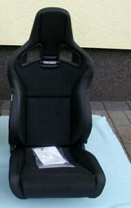 Recaro Cross Sportster Cs Left Seat Artificial Leather Dinamica 414 10 1575 Ebay