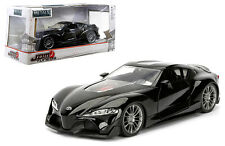 Toyota FT-1 Concept Black JDM Tuners 1/24 Scale Diecast Car Model By Jada 98687