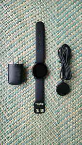 Samsung Galaxy Watch Active SM-R500 40mm Aluminum Case Sport Band-Black Band