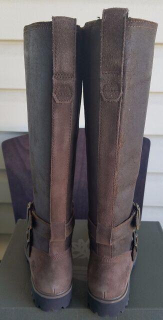 536eb58e0b09 Timberland Women s Wheelwright Tall Buckle Wide Calf Waterproof US 5.5 W  for sale online