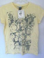 Oarsman 913yellow W/ Gray Designs Us Army T-shirt / Teewomens Smallnwt