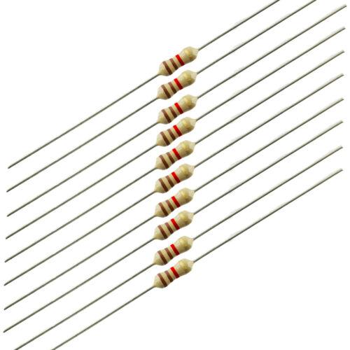 1//4 Watt Carbon Film Resistors 1.1K ohm 10 pieces