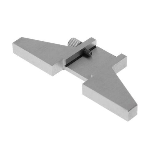 "Depth Base Attachment for 6/"" 8/"" Digital Caliper Vernier Gage Gauge T-bar Tool"