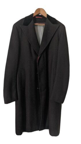 Vintage Tailored men's tweed wool business dress d