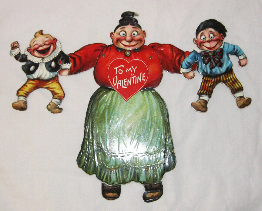Image 1 - 1908-Valentine-Card-Katzenjammer-Kids-Raphael-Tuck-amp-Co-New-Tork-Comics
