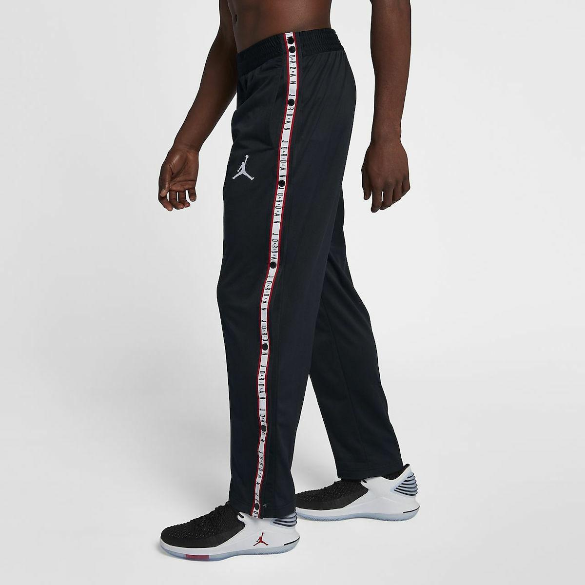 Nike Air Jordan Jordan Jordan Jumpman Basketball Trainieren Pantstrousers Böden Schwarz   429096