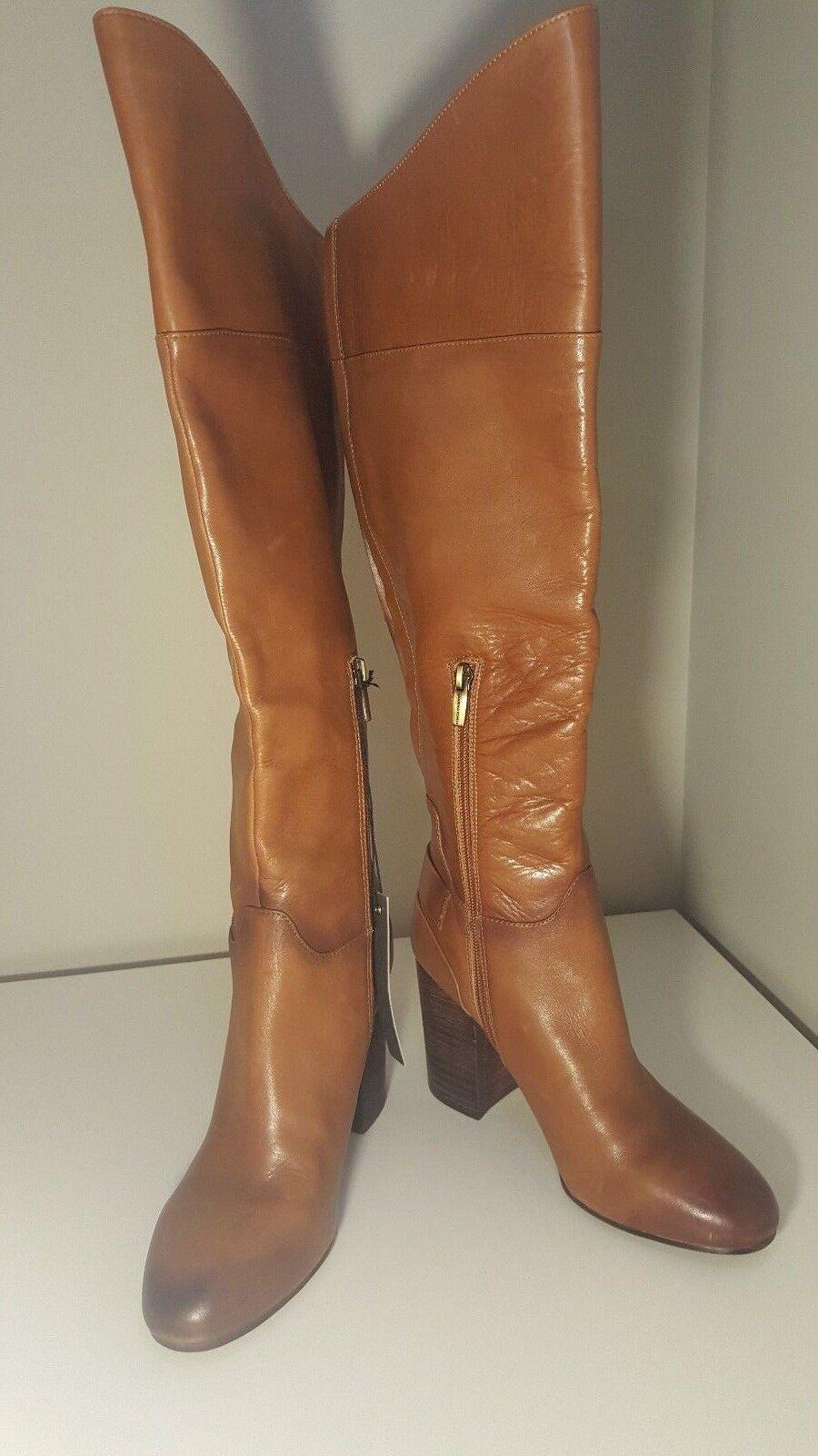 VINCE CAMUTO SIDNEY block heel tall boot 8.5