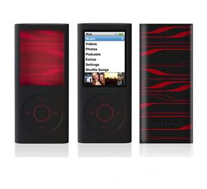 Belkin-infra-rouge-Noir-Coque-en-silicone-etui-pour-iPod-Nano-4th-generation