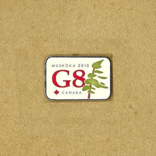 36TH G8 INDUSTRIAL SUMMIT LAPEL PIN