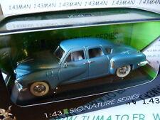 voiture 1/43 ROAD SIGNATURE : TUCKER Torpédo 1948 bleu