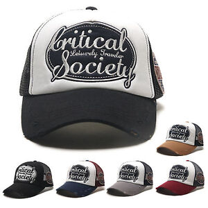 814380f4d69 Image is loading Unisex-Mens-Womens-Critical-Society-Mesh-Baseball-Cap-