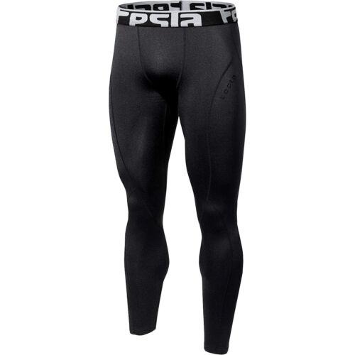Black//Black TSLA Tesla YUP33 Thermal Winter Gear Baselayer Compression Pants