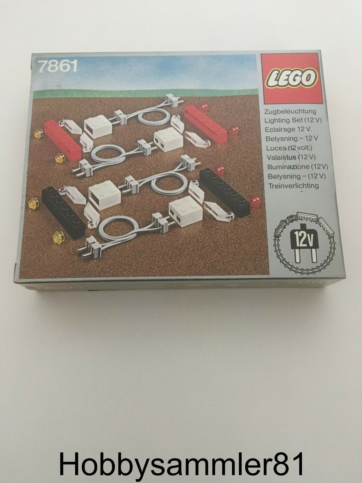 Lego® 7861 Lighting Set Electric 12v   Beleuchtungsset elektrisch   Neu  1