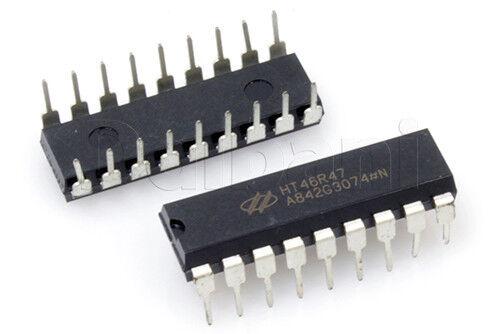 HT46R47 Original Pulled Holtek IC 8-Bit OTP Battery Charger Controller 8MHz