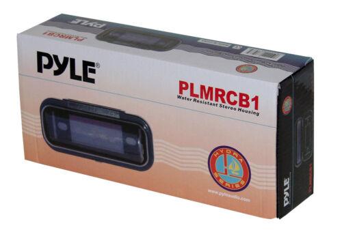 2 Pack of Pyle PLMRCB1 Water Resistant Marine Radio Covers Splash//Dust Guard