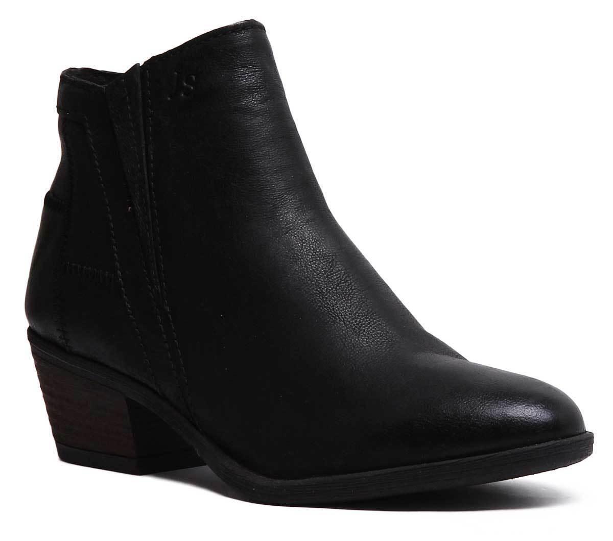 Josef Seibel Daphne 09 donna Suede Leather nero Ankle stivali  Dimensione UK 3 - 8  buon prezzo
