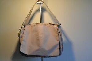 Mandarina-Duck-bag-laptop-briefcase-Work-Document-large-Business-Shoulder-BEIGE