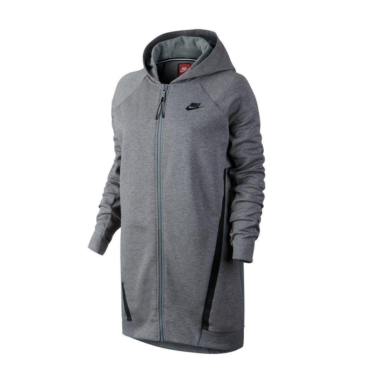 Nike Donna Tech Giacca in pile maglia maglia maglia COCOON Nero Grigio Bianco Caldo Palestra Da Gioco 2e88be