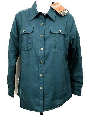 Simms Women/'s Fishing Shirt Guide Insulated Medium $129 Primaloft UPF 50 Wicking