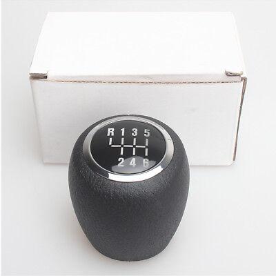 Car 5 Speed Gear Shift Lever Knob Head for Chevrolet Cruze 2008-2012 Black