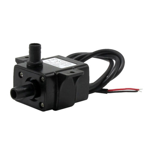 12V 5W Mini Water Pump Brushless Water Oil Pump Submersible Fountain L/_v