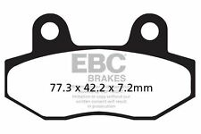 FIT WK BIKES  GTR 300 (Scooter) 13>15 EBC FRONT CARBON BRAKE PADS