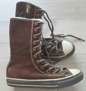Details zu Converse All Star,Gr.33 ,UK 1 ,Chucks,Stiefel,Marken Schuhe