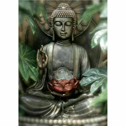 Full Drill Buddha Statue DIY 5D Diamond Painting Cross Stitch Kits Home Decor