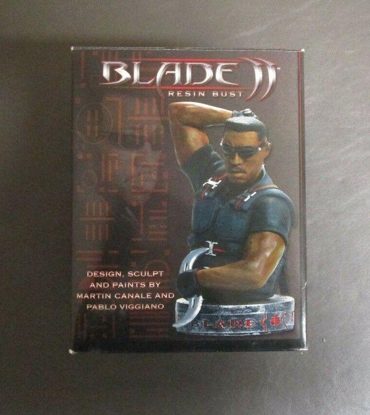 BLADE II 2 Wesley Snipes Resin Bust dynamic Forces Limited Edition 1998 En parfait état, dans sa boîte GV