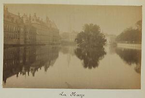 Paesi Bassi La Laye Vintage Albumina Ca 1880