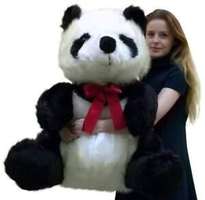 Big Plush Géant Farci Panda 86.4cm Doux Ourson, Fabriquée Aux Etats-unis America