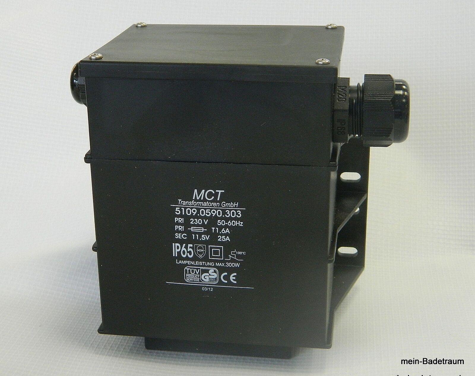 Transformator 300 VA für Poolscheinwerfer