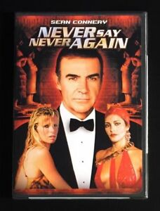 NEVER-SAY-NEVER-AGAIN-DVD-2000-JAMES-BOND-SEAN-CONNERY-OOP-NEW-amp-SEALED