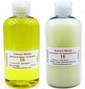 B16-Treatment-Oil-amp-Shampoo-Body-wash-Pack-for-Scabies-1-each-x-250ml