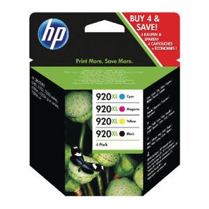 4-Original-HP-920XL-Cartuchos-De-Tinta-Para-OfficeJet-6000-6500-6500-A-7500-7500-A-7000