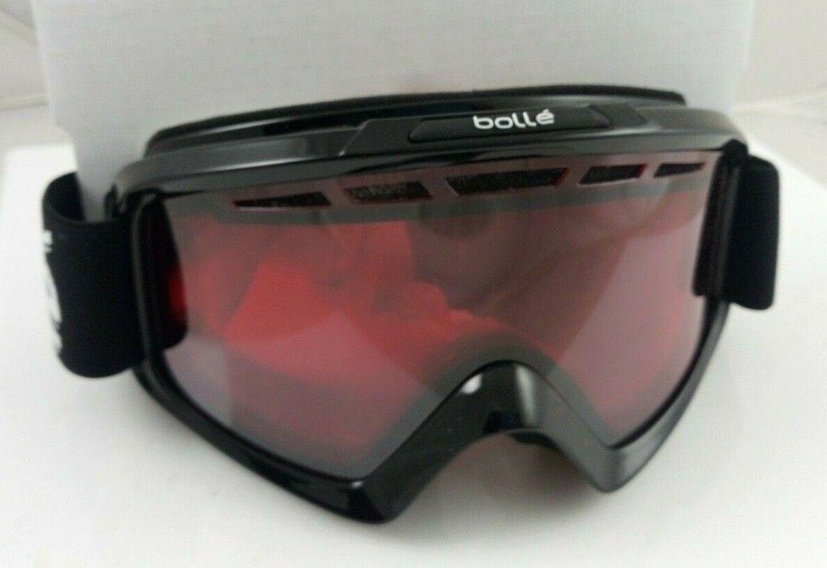 Goggles ski Bolle Nova II lens Vermilion Gun cat 2