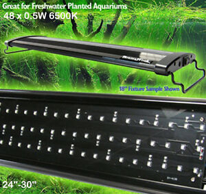 AQUARIUM LED OVERTANK LIGHT PLANTED TANK LED LIGHTING ...