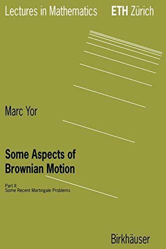 Some Aspects of Brownian Motion by Yor  New 9783764357177 Fast Free Shipping-,