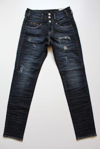 W25,26,27,28,29 L32 Dunkelblau Herrlicher Raya Boy Damen Boyfriend-Jeans 5305