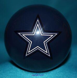 NEW NFL Dallas COWBOYS Football Blue Billiard Pool Cue Ball ~ FREE Shipping !