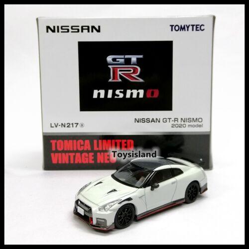 Tomica Limited Vintage NEO LV-N217a NISSAN GT-R R35 NISMO 2020 Model TOMYTEC 64