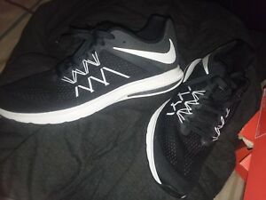 Nike Mens Air Zoom Winflo 3 Running Shoe Black White Anthracite 14 ... 887192ee1