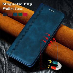 Pour-Huawei-P40-Lite-E-P40-P30-Pro-Luxe-Magnetique-en-Cuir-Portefeuille-a-Rabat-Case-Cover