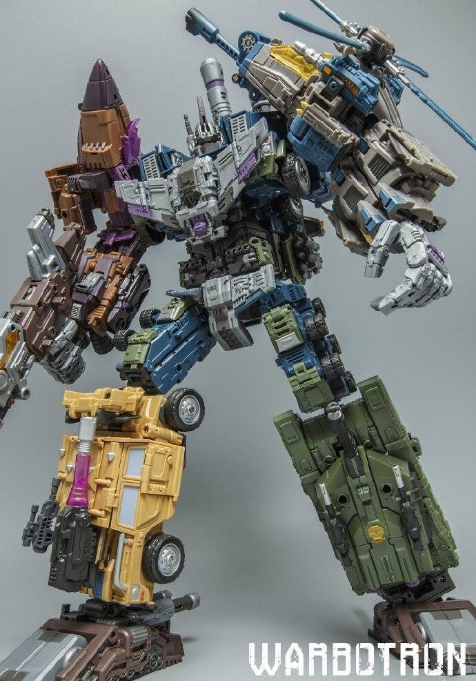 Transformers warbotron WB01 Bruticus complet Combineur set-OFFICIAL PRODUCT