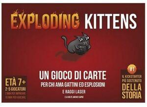 EXPLODING KITTENS Gioco da Tavolo Italiano Asterion - Asmodee