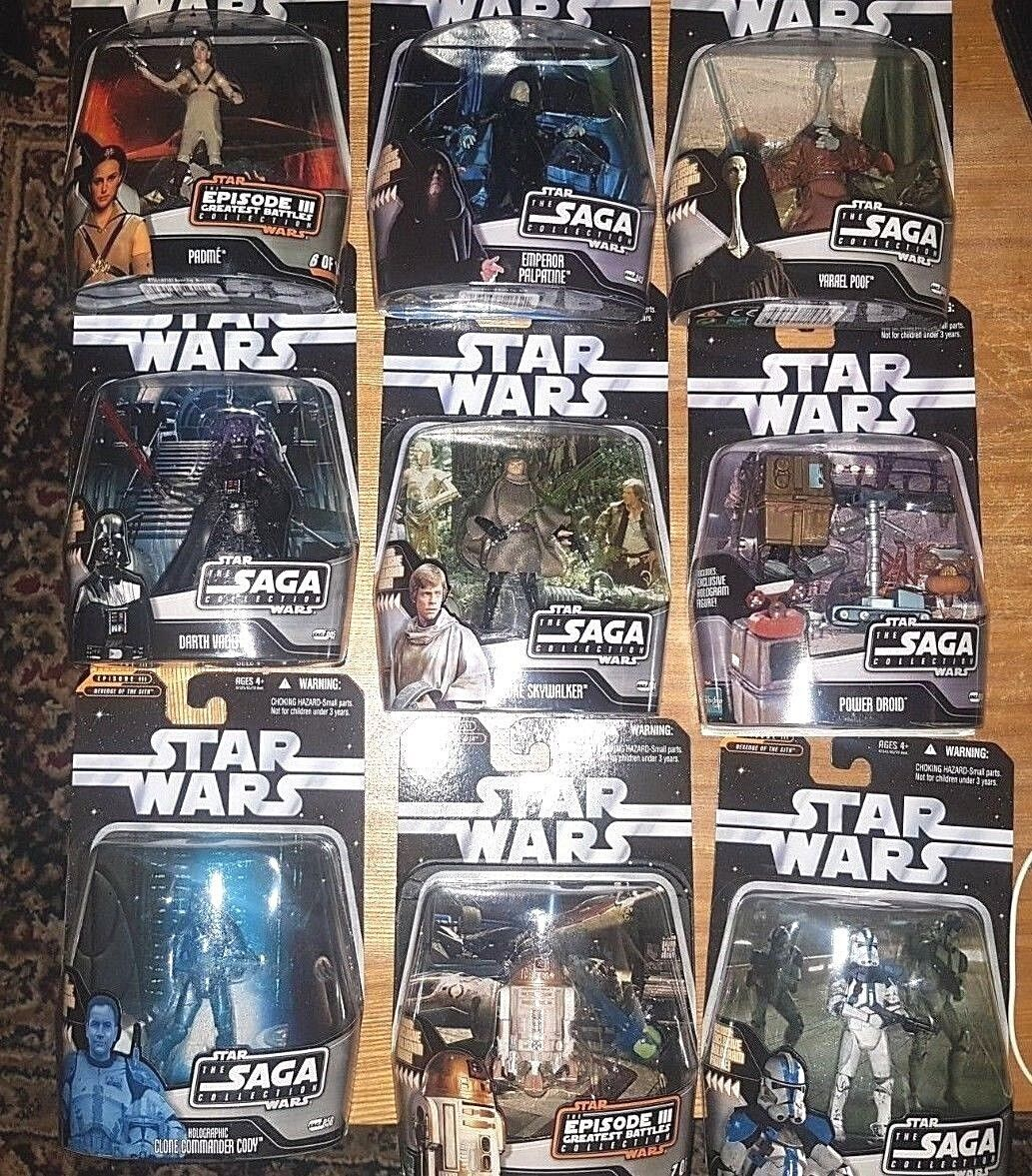 "Star Wars 3.75"". THE SAGA COLLECTION  Figures..."