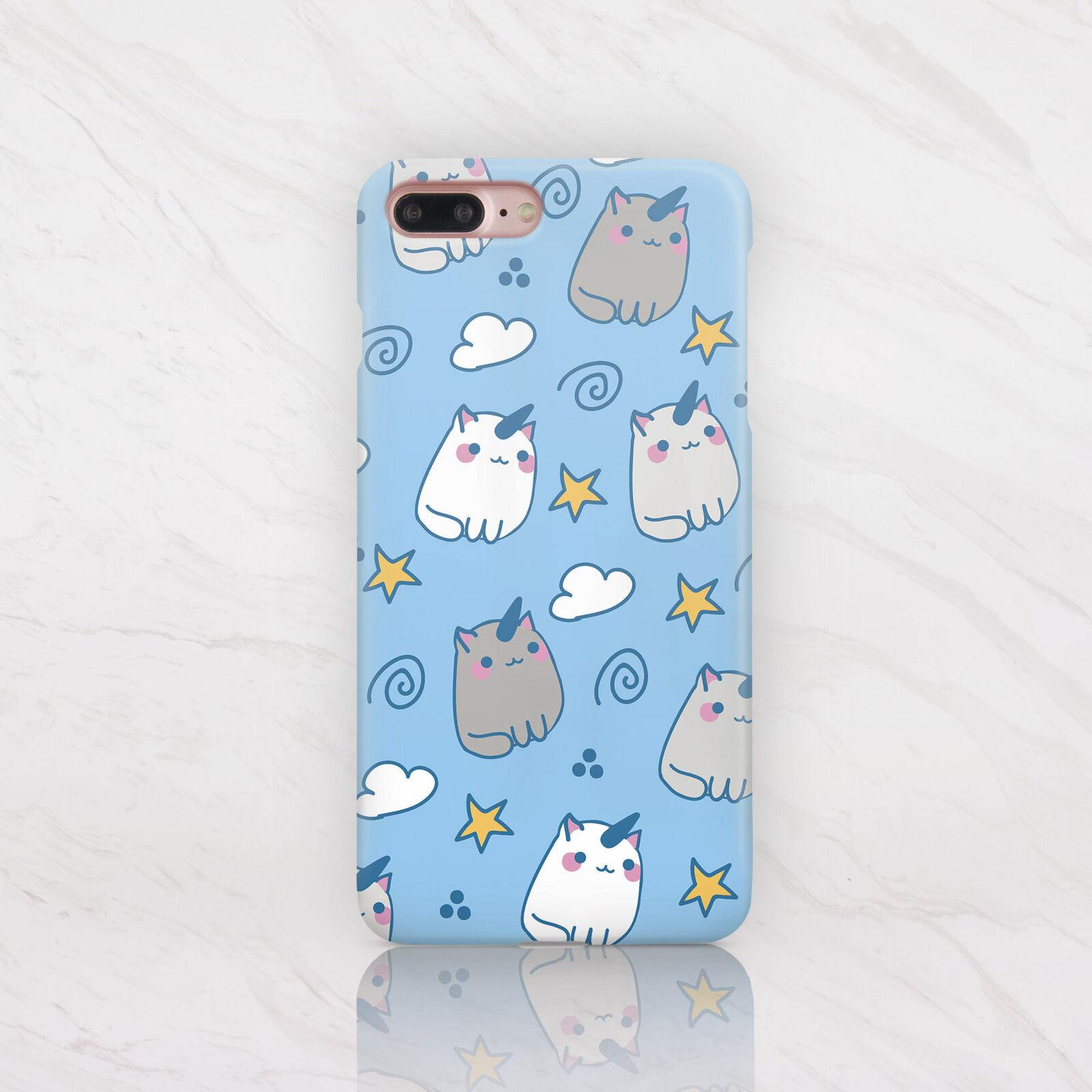 Unicorn Cat Pattern Pattern Phone Case
